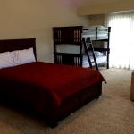 River Home Master Bedroom